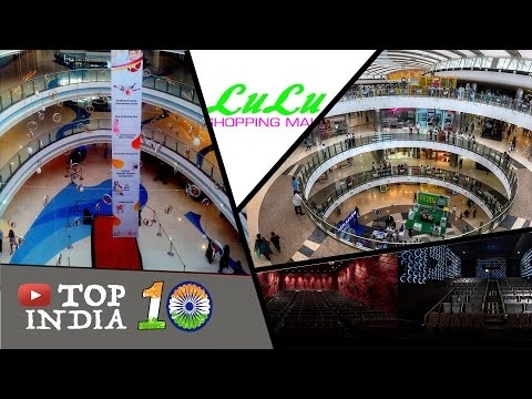 Top 10 Largest Shopping Malls in India || Top10INDIA [4k]