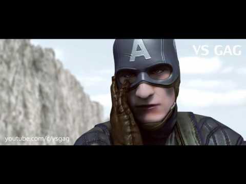 Железный человек против капитан америка мультфильм