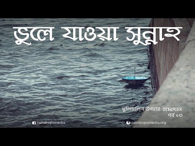 পর্ব ১৩ | ধূলিমলিন উপহার: রামাদান | ভুলে যাওয়া সুন্নাহ | Rain Drops Media