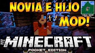 NOVIA E HIJO MOD PARA MINECRAFT PE 0.14.0 | Mods Para Minecraft PE 0.14.0
