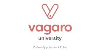 Online Appointment Rules in Vagaro