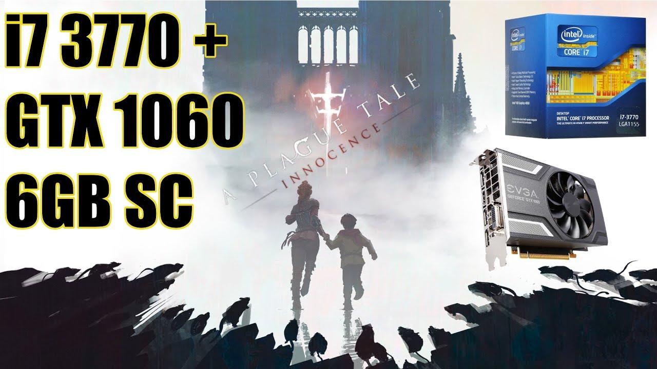 A Plague Tale: Innocence - i7 3770 - GTX 1060 6GB SC - Dell Optiplex 9010  Gaming (Ultra Settings)