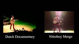 Hammersmith 1979   Crazy Little Thing Called Love (New Angles) - Comparison