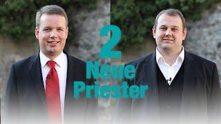 Zwei wollen Priester werden