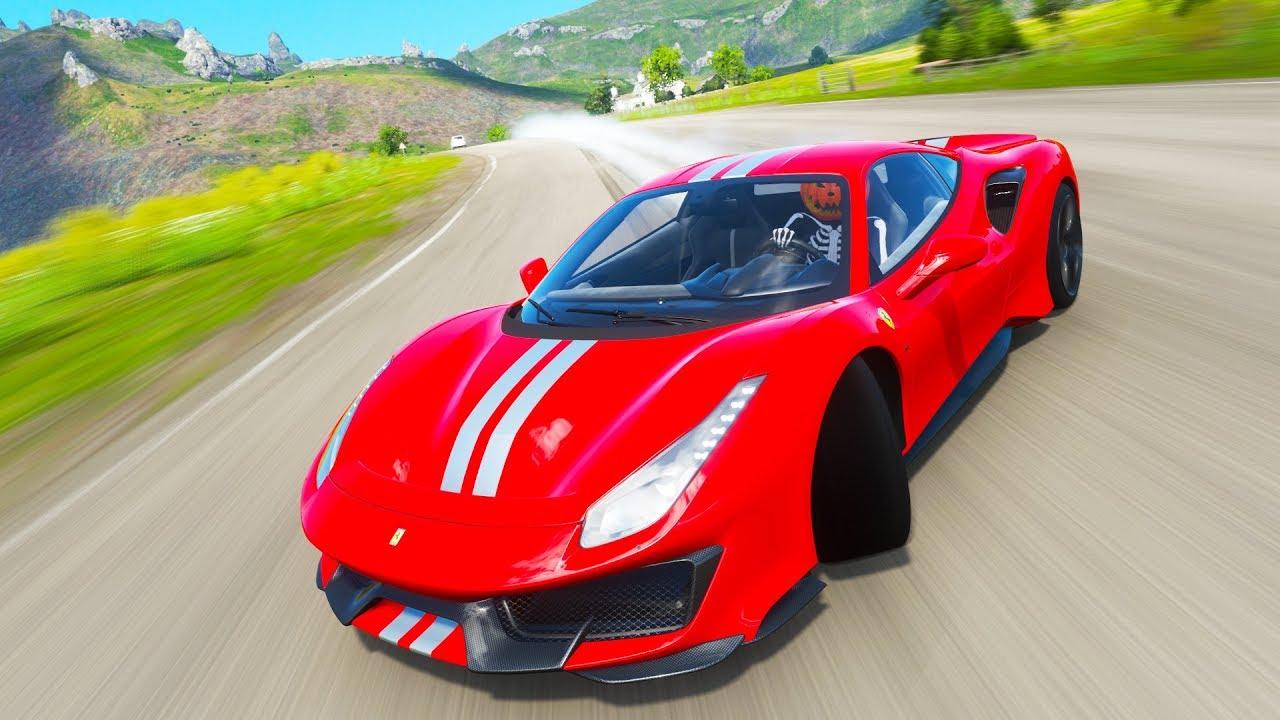 NEW FERRARI PISTA IS A DREAM TO DRIVE IN FORZA HORIZON 4