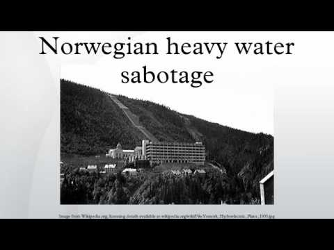 Norwegian heavy water sabotage