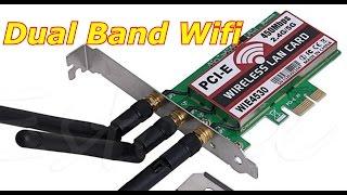 wifi карта с Алиэкспресс ⁄Desktop Dual Band Wireless 450M LAN Wifi
