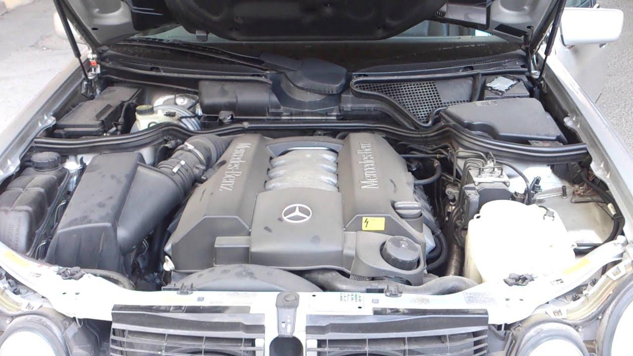 Mercedes benz e430 engine sound v8 youtube for Mercedes benz v8 engine