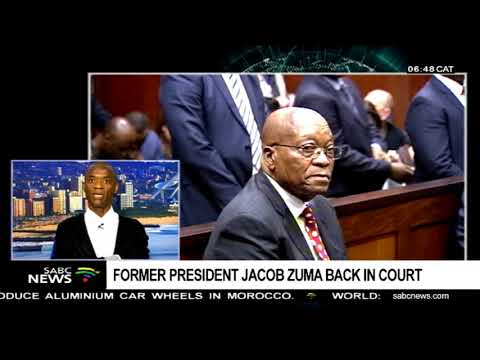 DISCUSSION: Zuma back in court with Xolani Dube - PT1