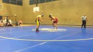 Dahveed UM Wrestling VS. Rosemont 01_28_2015