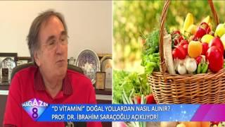 D Vitamini Doğal Yollardan Nasıl Alınır Prof Dr İbrahim Saraçoğlu Açıklıyor