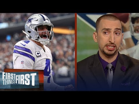 Nick Wright breaks down the Cowboys' playoff picture, Patriots' struggles | NFL | FIRST THINGS FIRST