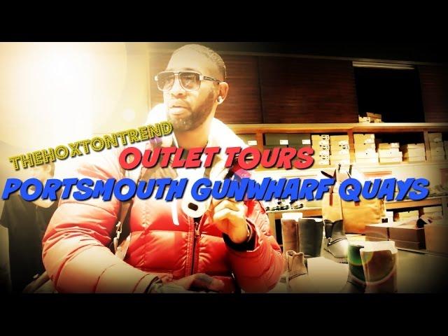 Disipar caricia suelo  Porstmouth GUNWHARF QUAYS | OUTLET TOURS | Nike Adidas Reiss Timberland -  YouTube