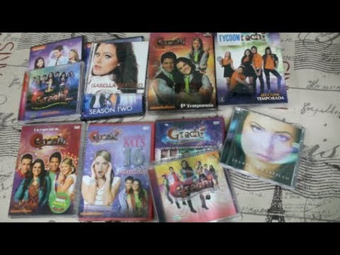 Unboxing DVD´S y CD´S De Grachi y Every Witch Way