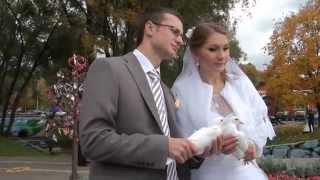 Свадьба Алексея и Марии 4 октября 2014 года. Москва.