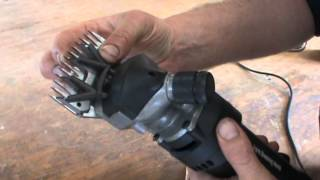 Shearing How to set up your Shearing Clipper with Comb and Cutter the easy way