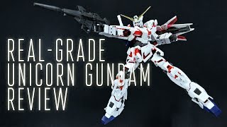 Here's the Real-Grade 1/144 scale RX-0 Unicorn Gundam. Bandai once ...