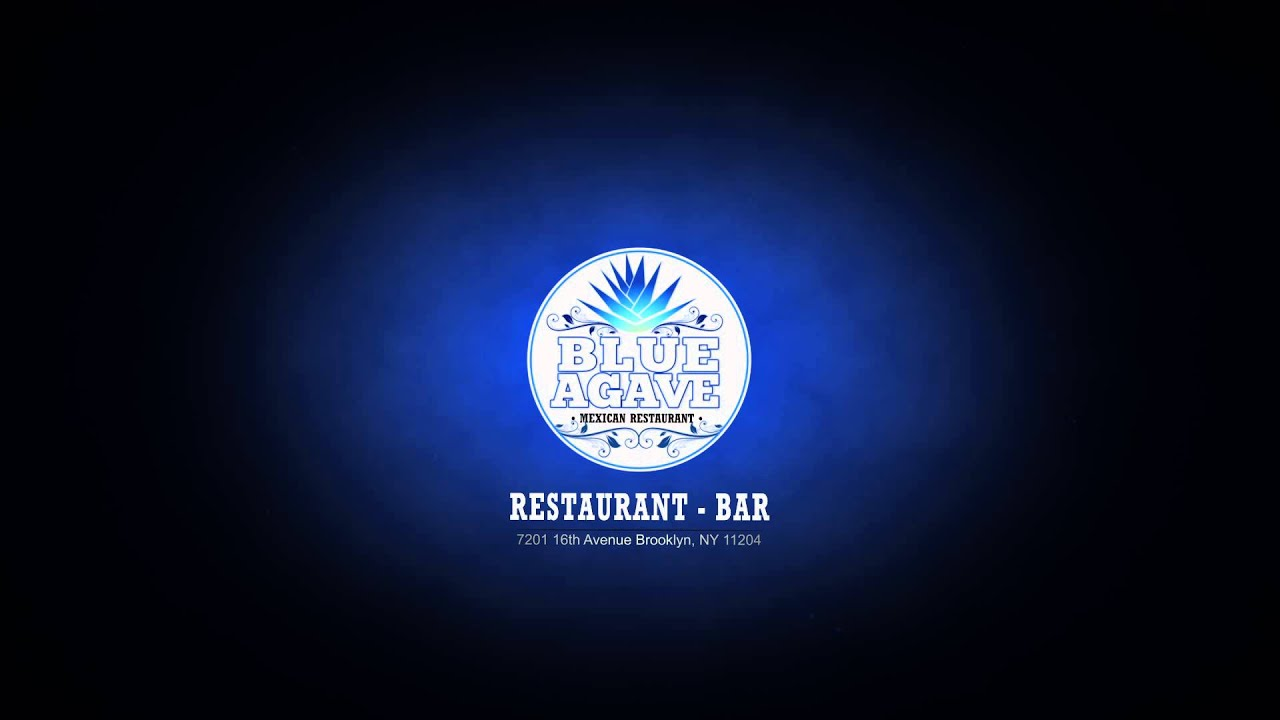 blue agave restaurant bar logo animation youtube - Blue Restaurant 2015