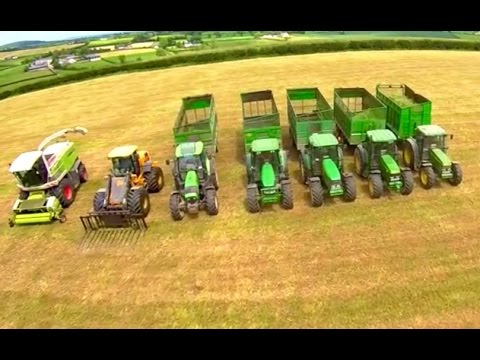 Silage Men - 50 years Gobbling Grass