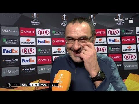 Maurizio Sarri addresses the rumours linking him to the Roma job