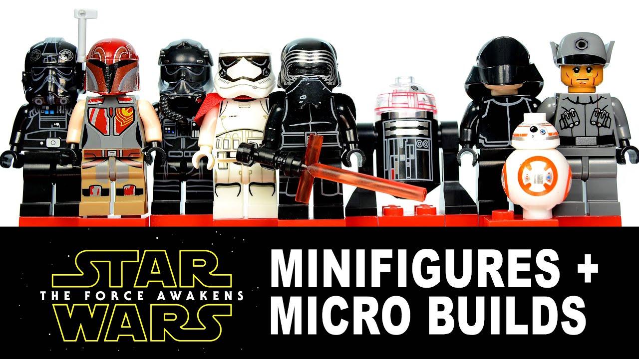 lego star wars the force awakens amp rebels knockoff