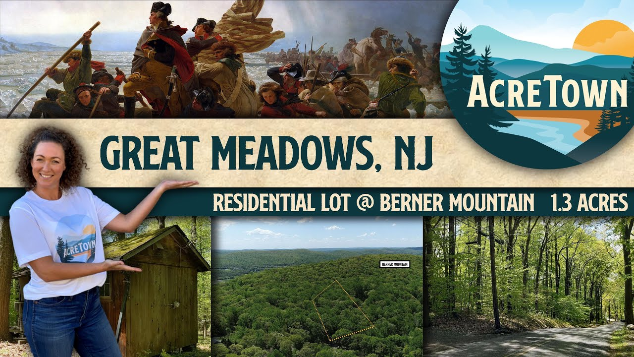Cheap New Jersey Land | 1.3 acres of Mountainside Residential Land w/Cabin | Power Connected