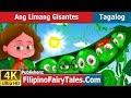 Ang Limang Gisantes | Kwentong Pambata | Mga Kwentong Pambata | 4K UHD | Filipino Fairy Tales