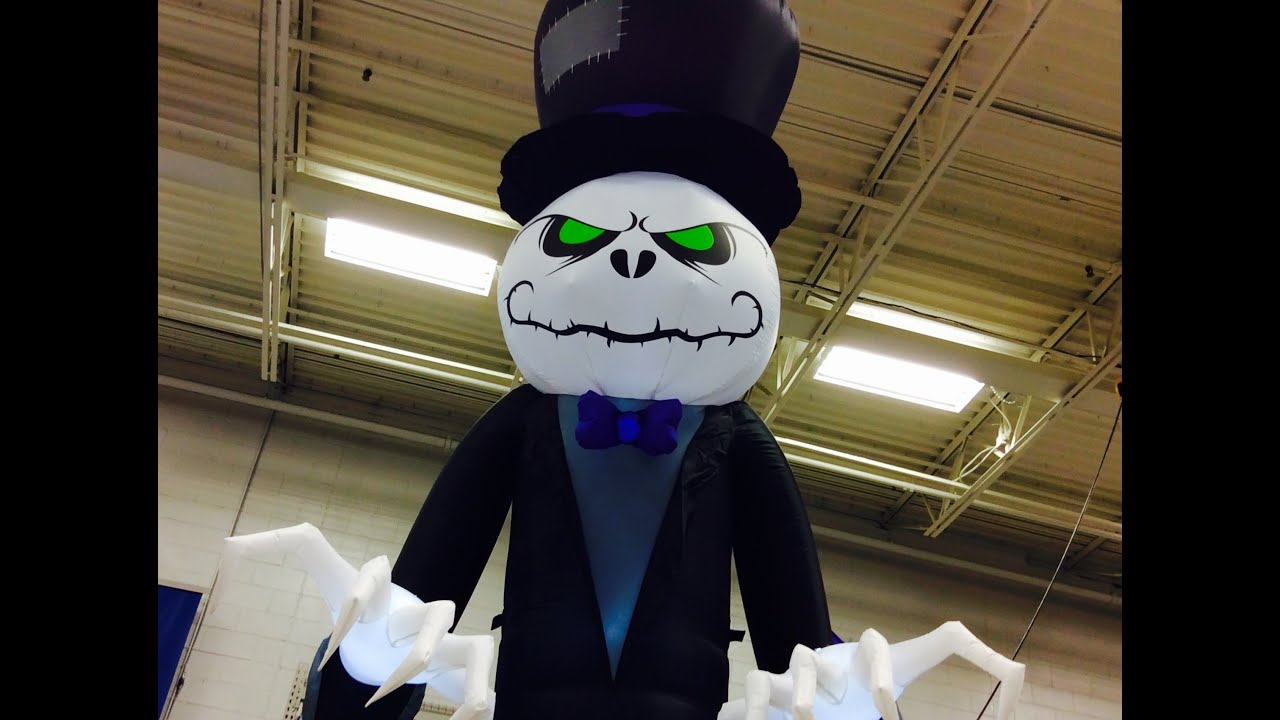 Lowes halloween 2016 youtube Halloween decorations home depot