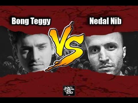 Nedal Nib vs Bong Teggy // DLTLLY RapBattle (Berlin) // 2016