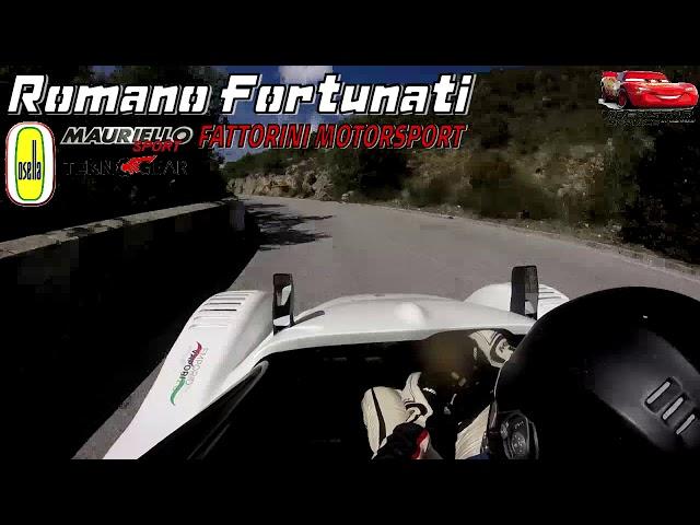 Romano Fortunati// Osella PA21 JRB BMW 1000// 56^ Svolte di Popoli 2018// ON BOARD