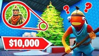 Last One To Be Found Wins $10,000! - Fortnite Hide and Seek w/ Lazarbeam, Vikkstar123 and AlexAce