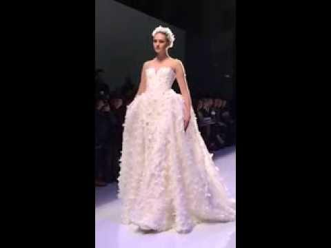 Georges Hobeika Wedding Gown Paris Haute Couture Fashion Show 2014