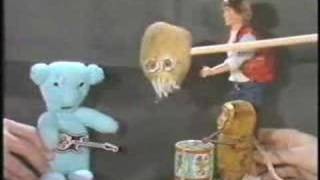 """A """"History of XTC puppet show"""" film used to promote the release of ..."""