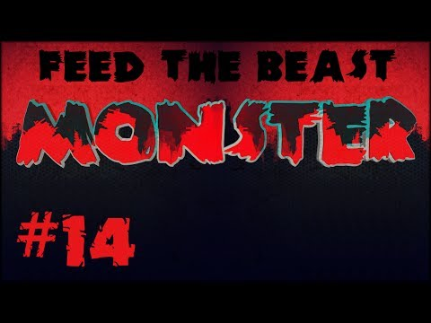 FTB Monster - #14 - Wither Boss Fight & Quadruple Compressed Cobble