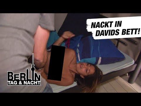 Berlin - Tag & Nacht - Alessia legt sich nackt in Davids Bett! #1527 - RTL II