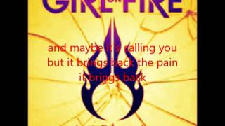 Girls on Fire Reminds Me of You (Lyric Video)