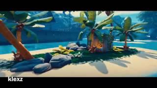 Lagune paresseuse (lagune paresseuse) Pack cinématographique Fortnite! Libre d'utilisation!
