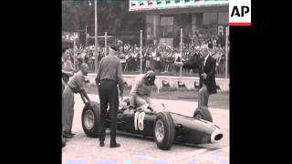 CAN 320 JOHN SURTEES OF ENGLAND WINS THE ITALIAN GRAND PRIX FORMULA ONE CAR RACE IN MONZA