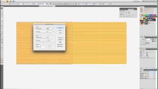 Wood Grain Background Tutorial In Adobe Illustrator