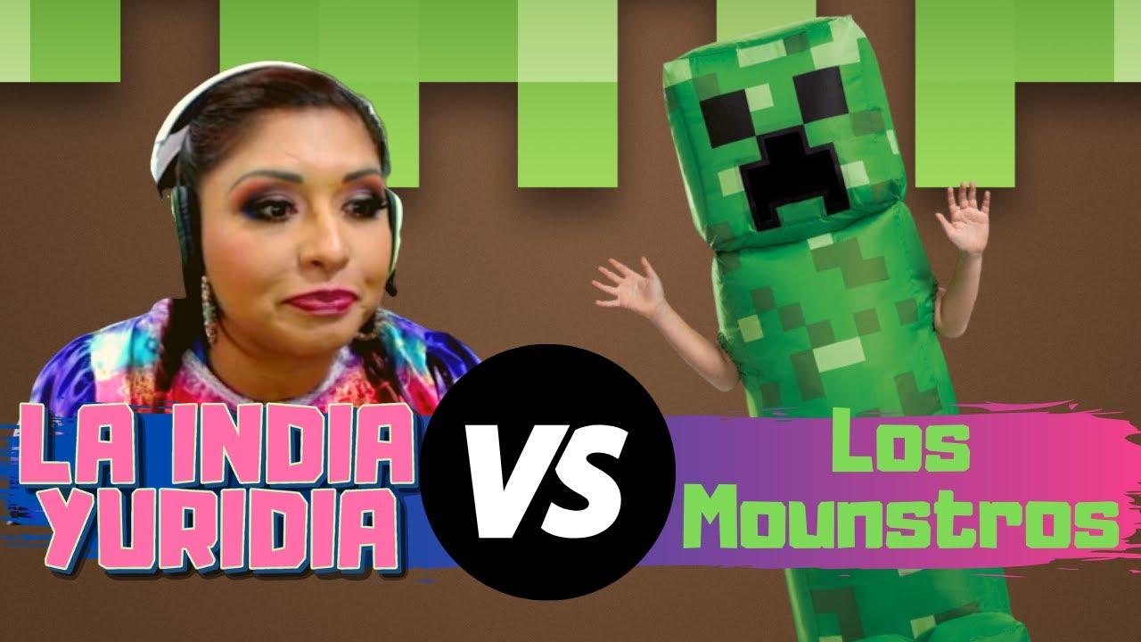 La India Yuridia Vs. Los Monstruos -- Los Gameplays Parte #2
