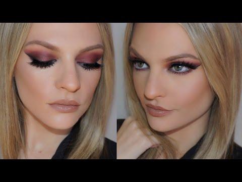 Plum Smokey Eye Makeup Tutorial