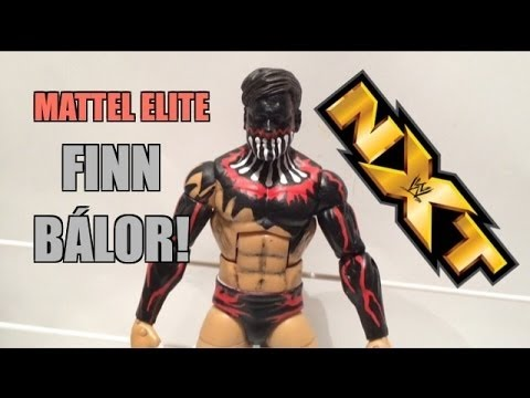 Finn Balor Wwe Nxt Elite 41 Mattel Toy Unboxing Review Youtube