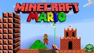 Minecraft Maps: ¡Super Mario en Minecraft! [Snapshot 14w18b]