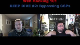 web Hacking Pro Tips Deep Dive #2: Bypassing Content Security Policies