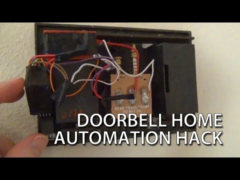 Arduino Doorbell Home Automation Hack with MySensors - YouTube