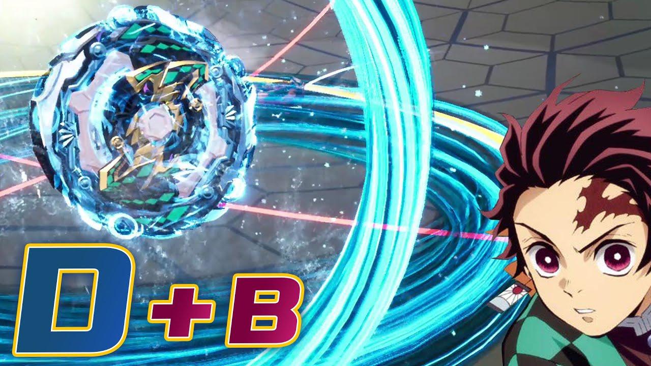 Beyblade Burst DB/ Dynamite Battle/ Demon Slayer2/귀멸의 칼날2/ 베이블레이드 DB/ ベイブレードバースト ダイナマイトバトル