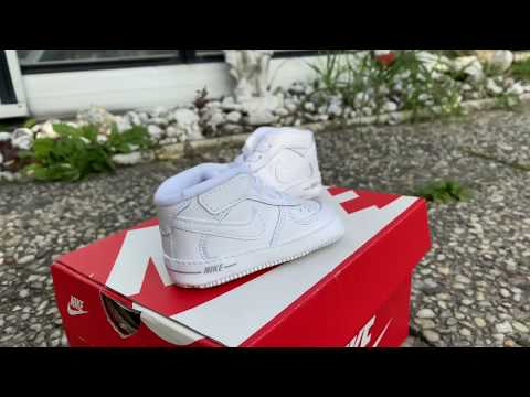 Nike Baby Force 1 UNBOXING & ON FEET