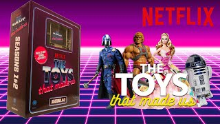 The Toys That Made Us Season 1 + 2 Blu-ray Unboxing