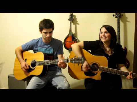 Are You Gonna Kiss Me Or Not by Thompson Square (cover)- Cassidy Lynn and Mitch Rossell