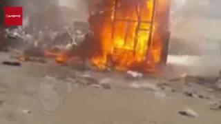 السيطرة على حريق التهم محلي ملابس غرب الإسكندرية (فيديو وصور)